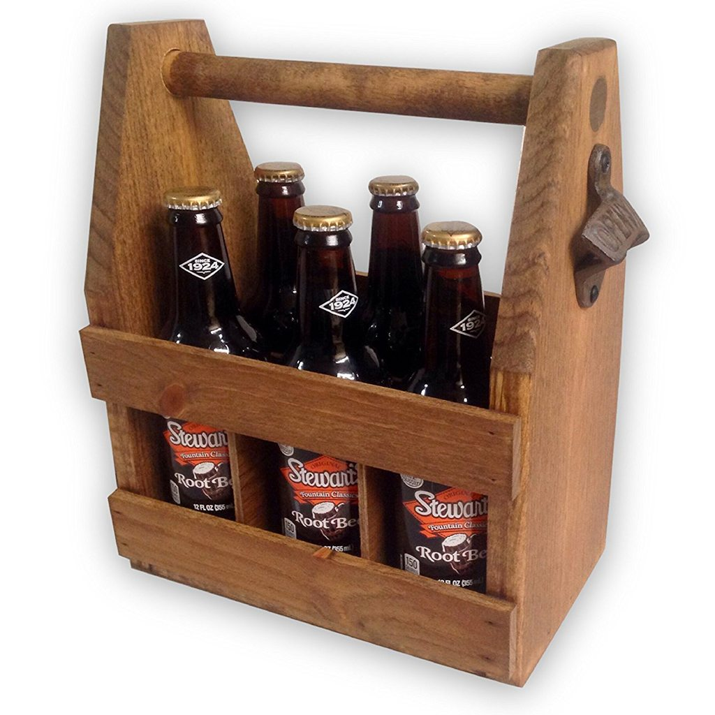 Wood Beer Holder from H&R