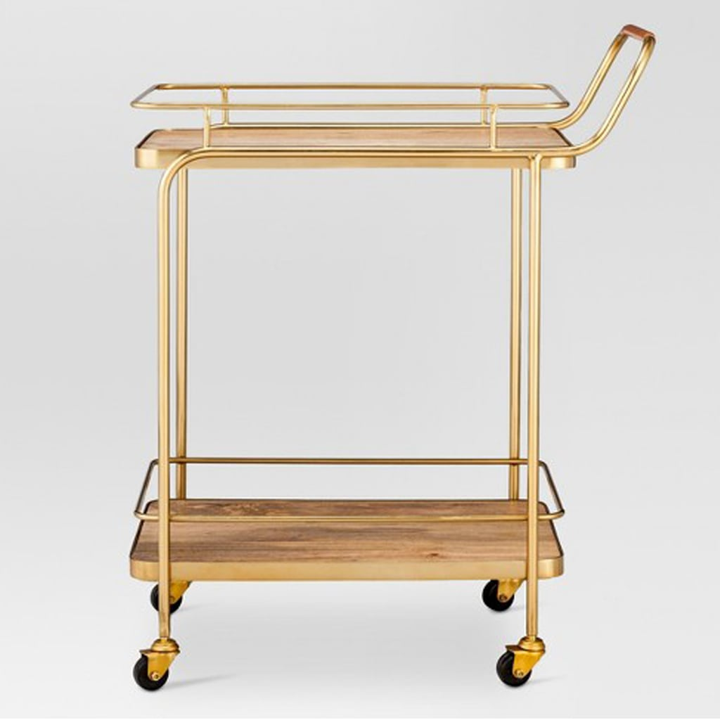 Gold Bar Cart from Target