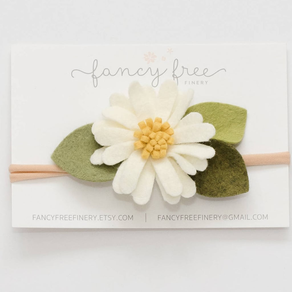 Classic Daisy headband from fancy free finery