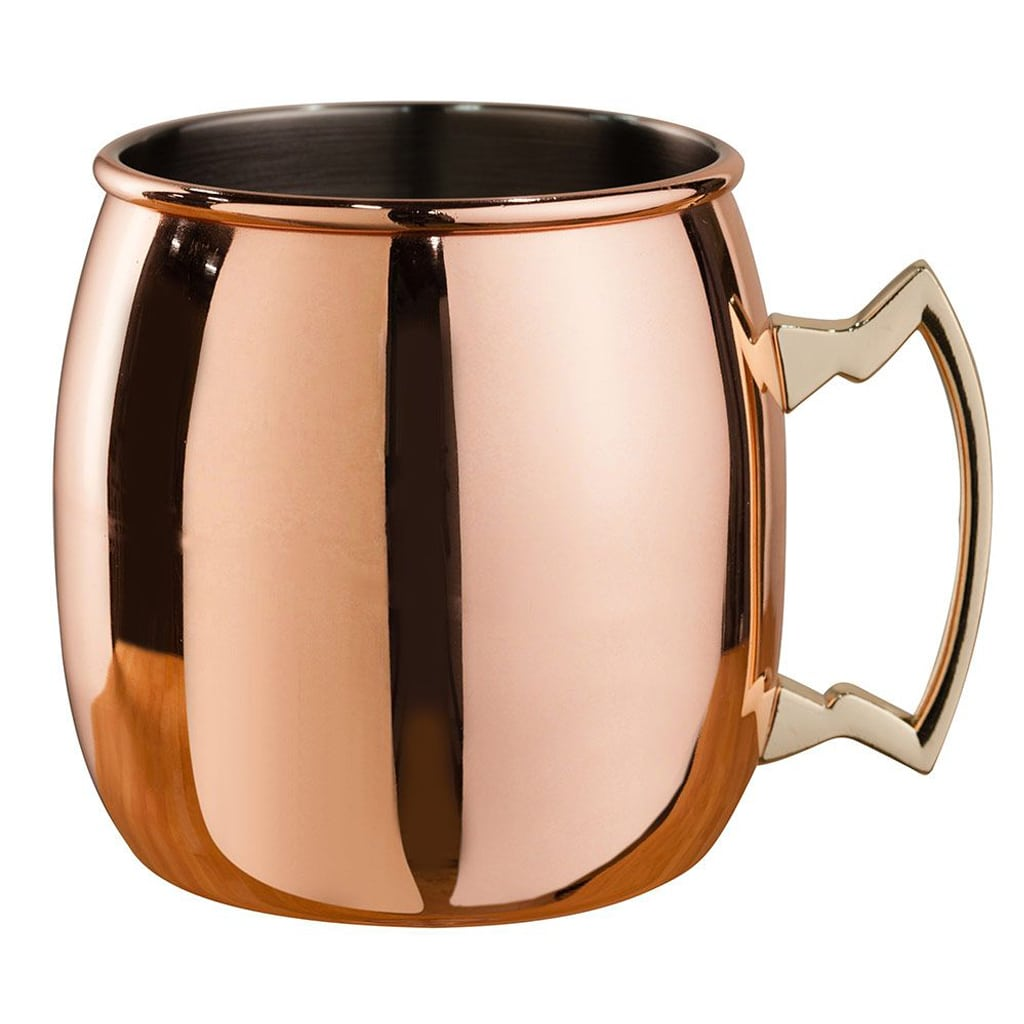 Copper-Plated Mule Mug by Beaumont Barware