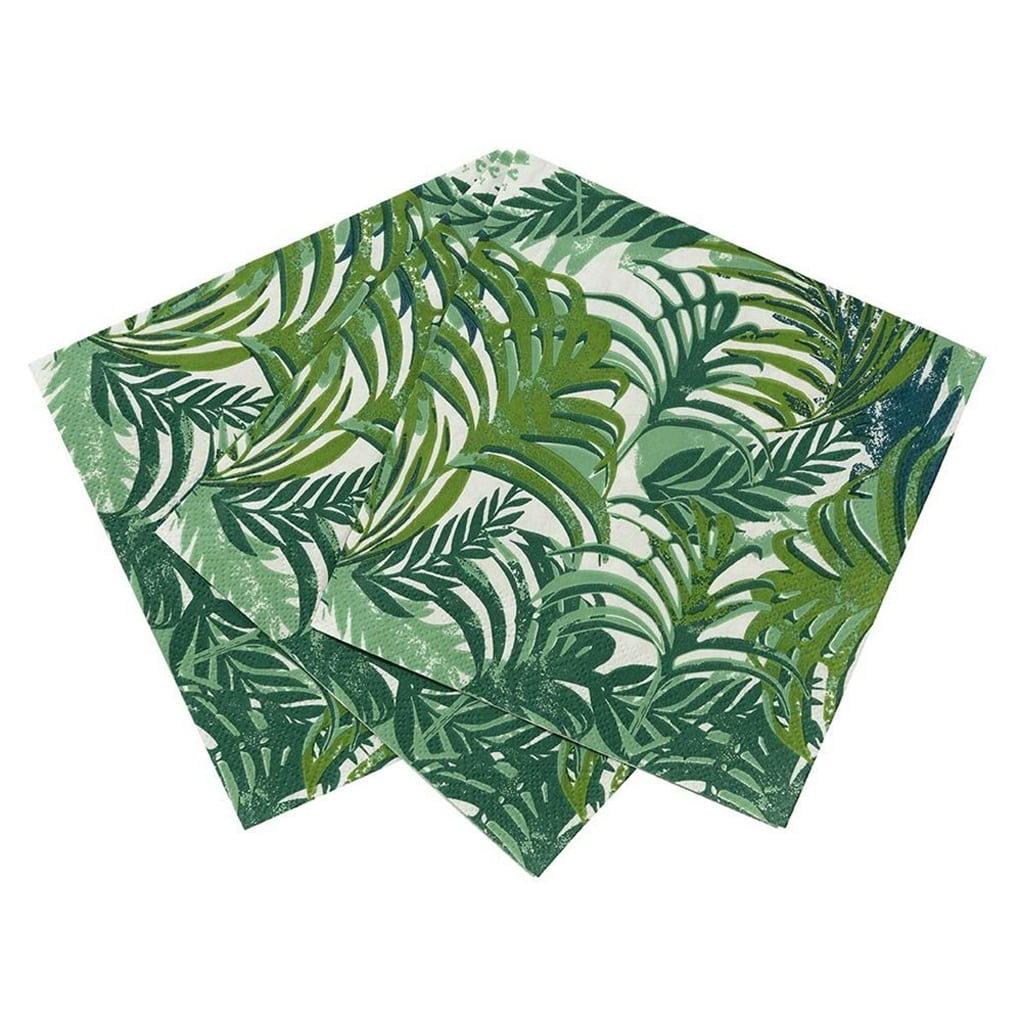 Napkins Tropical Leaf (20 pack)