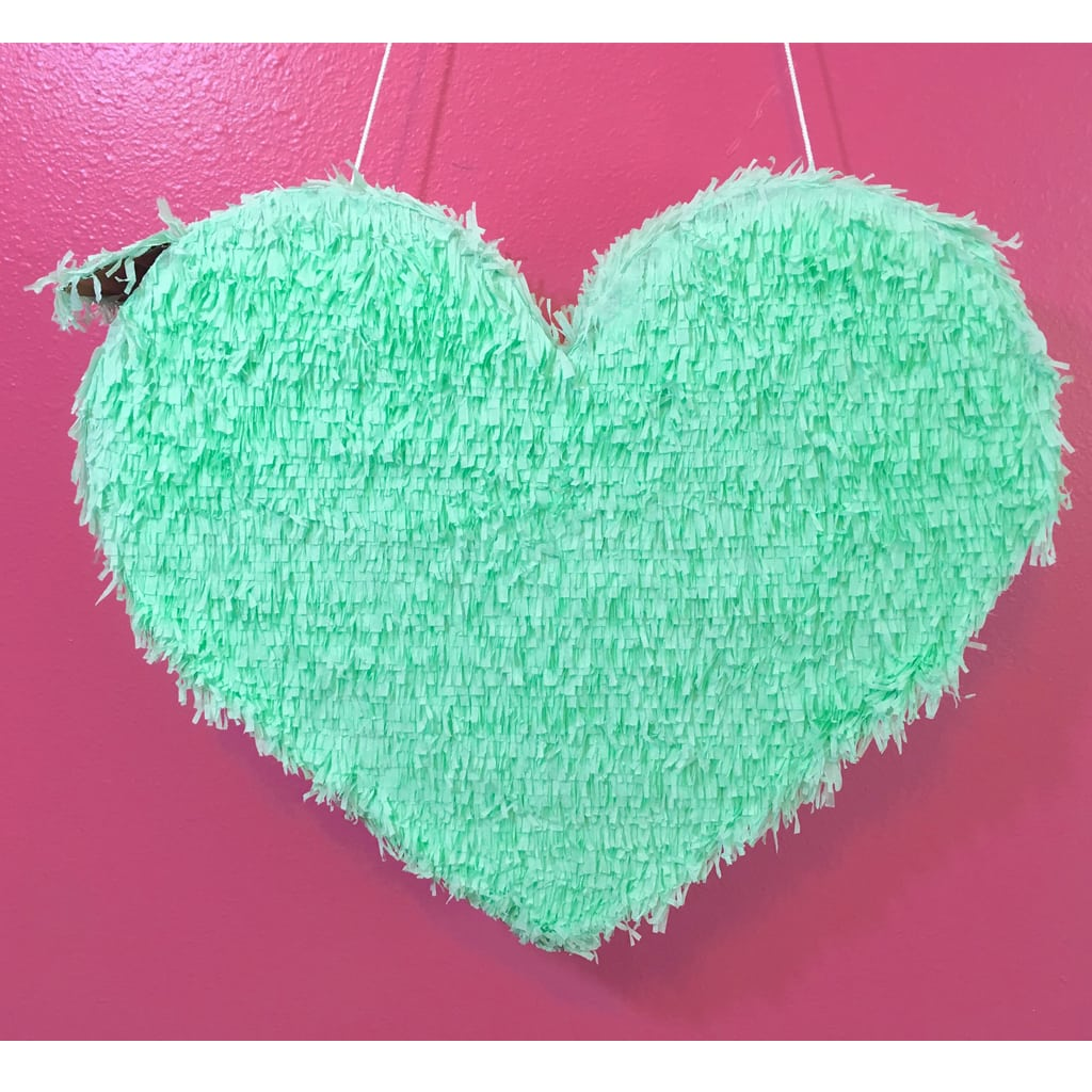Mint Heart Piñata from Pinatas by CHI