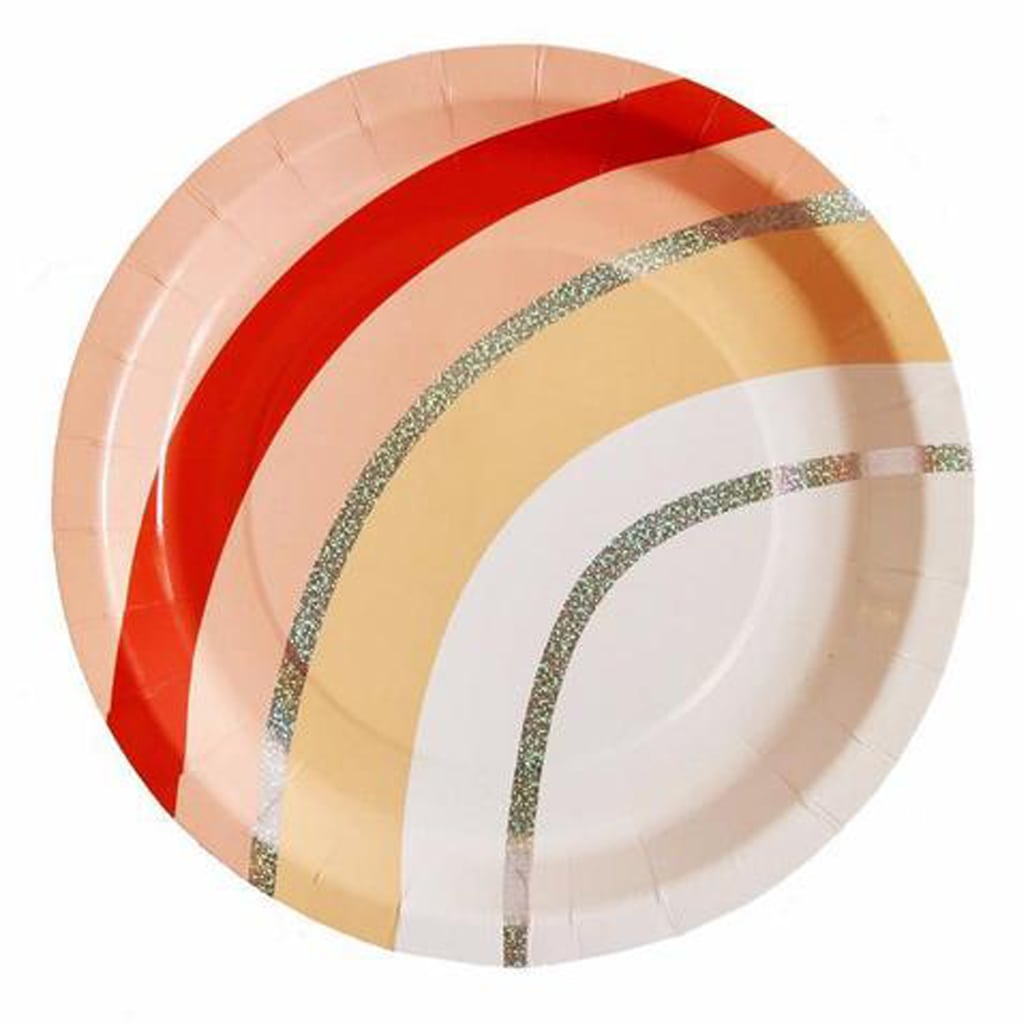PEACHY VIBES LARGE PLATE from Geese & Ganders