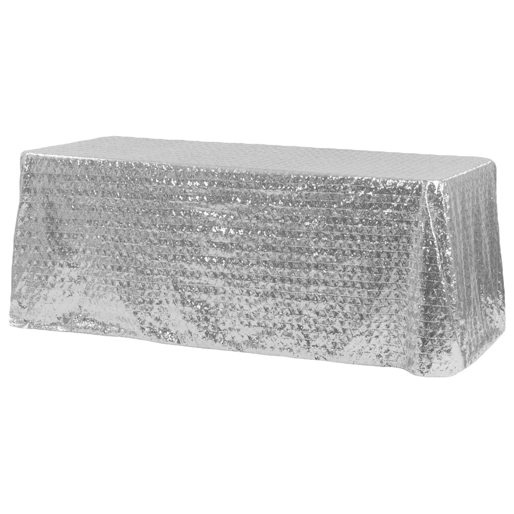 Sequin Rectangular Tablecloth