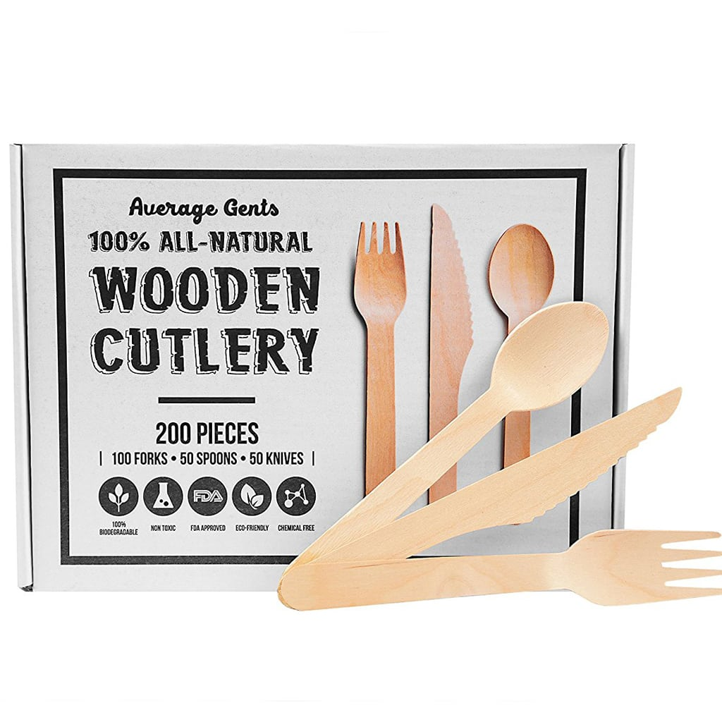 PASTEL WOODEN CUTLERY from Bonjour Fete