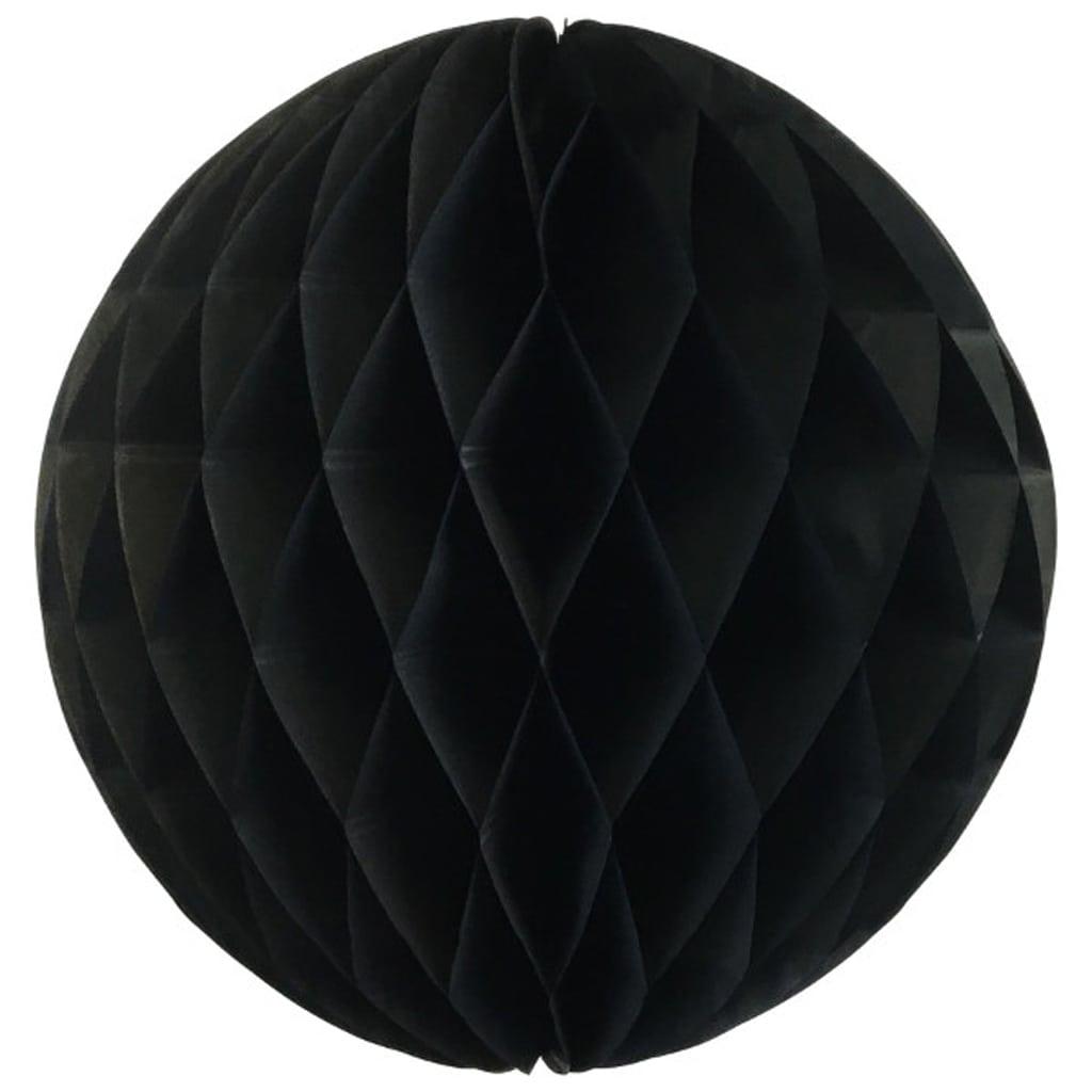 Black 12-inch honey comb ball