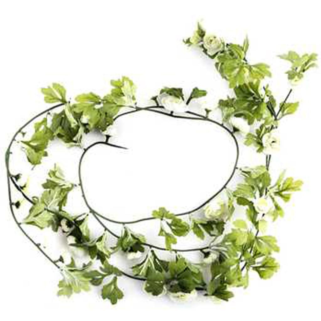 Cream Ranunculus Garland