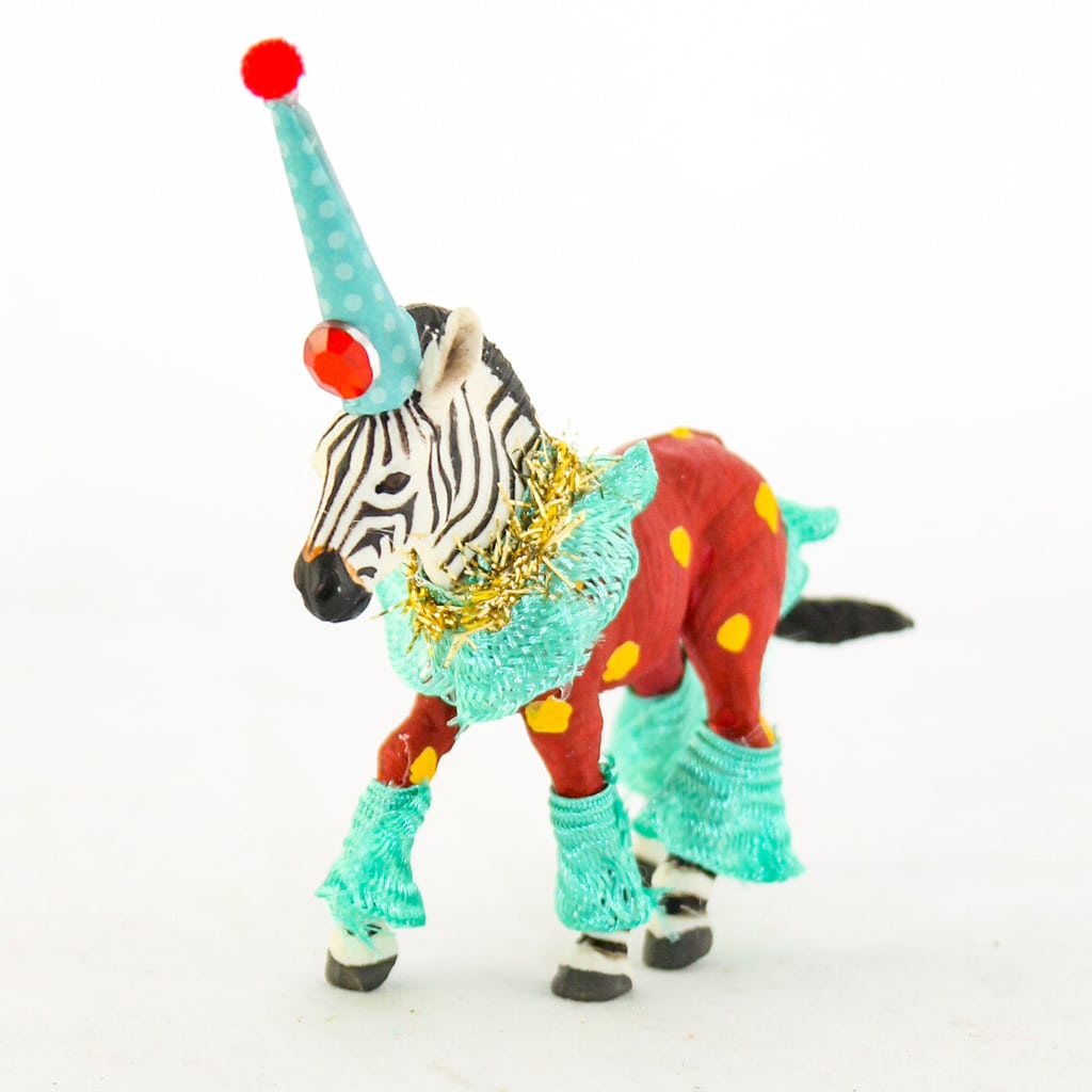 Custom Party Zebra from Painted Parade