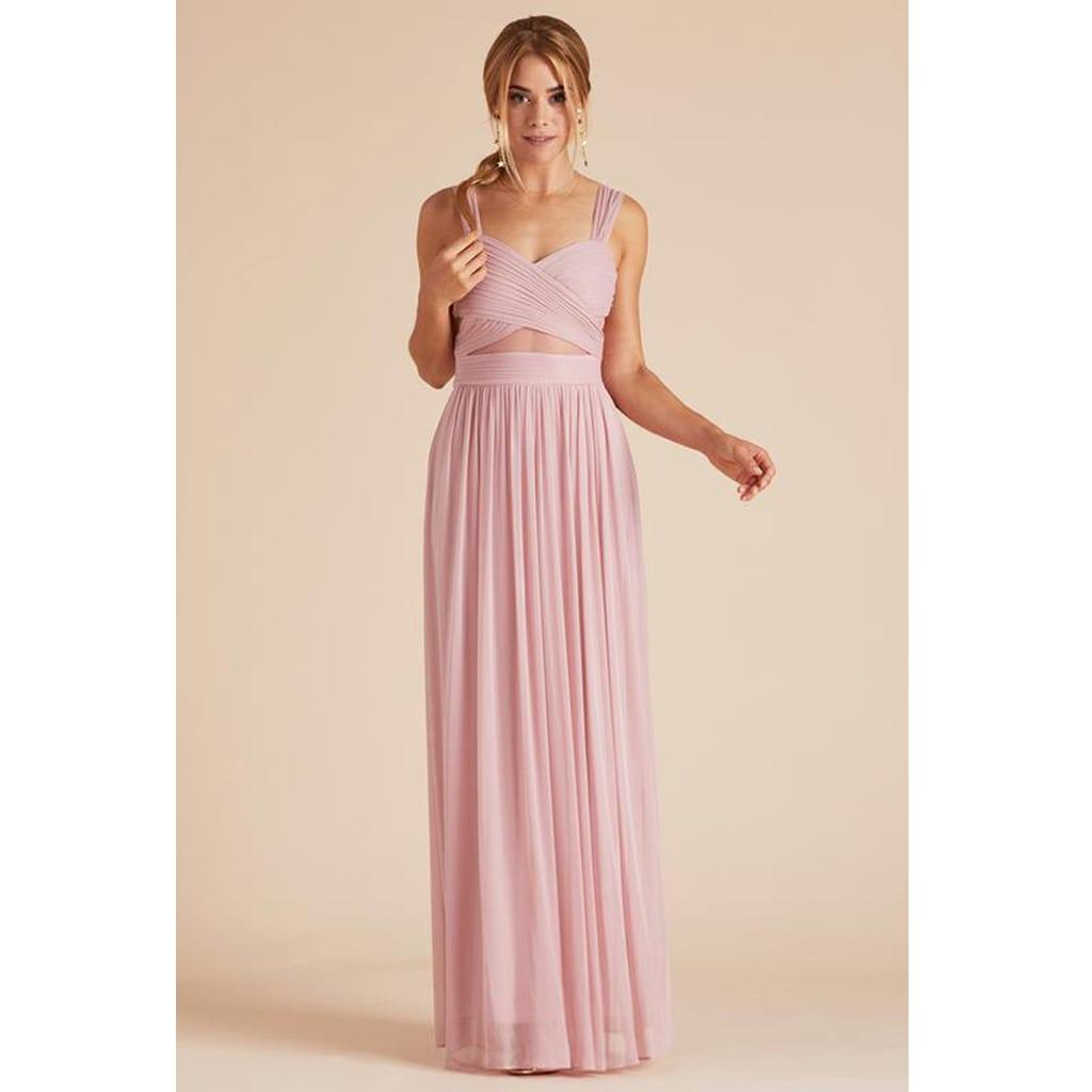 ELSYE DRESS - DUSTY ROSE by Birdy Grey