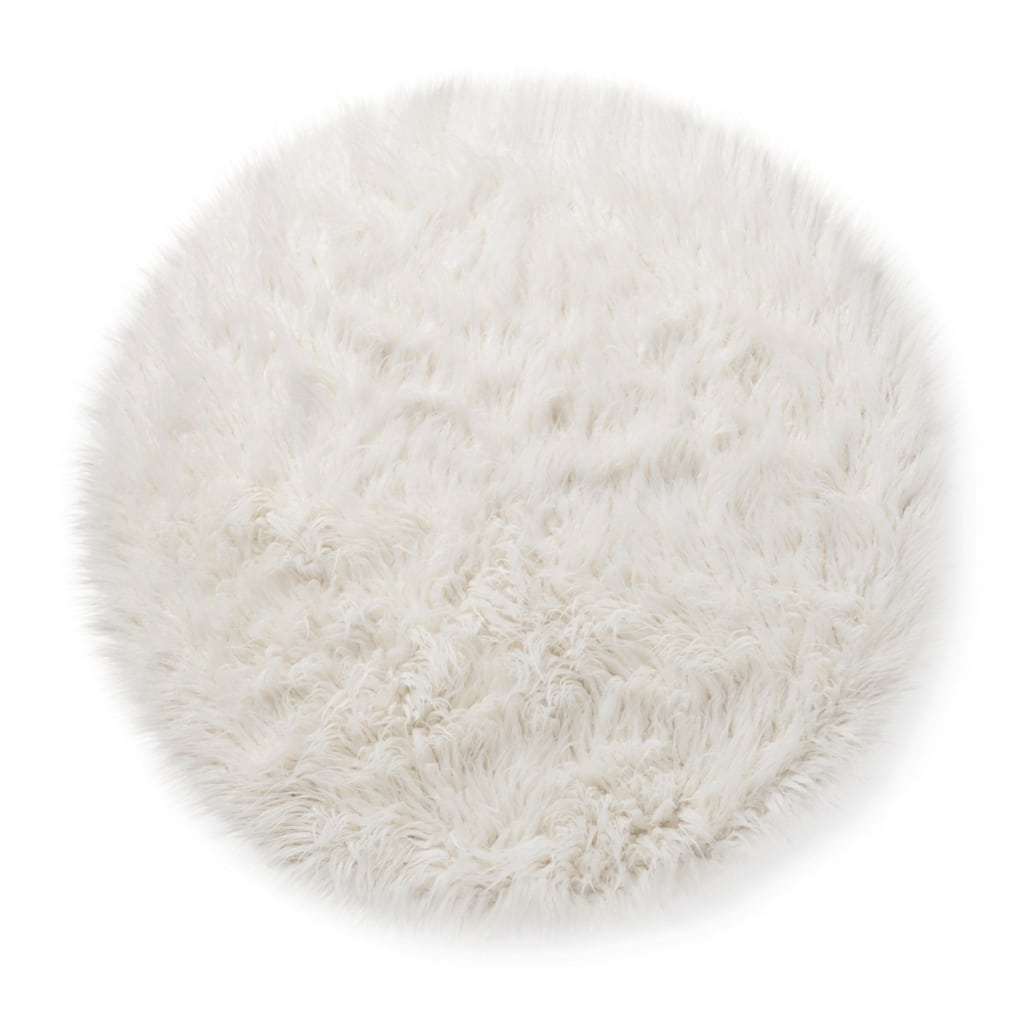 Accent Faux Fur Rug