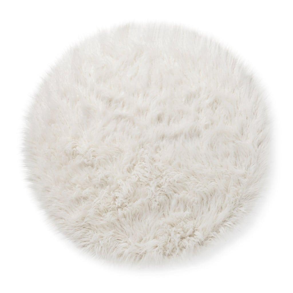 Accent Faux Fur Rug