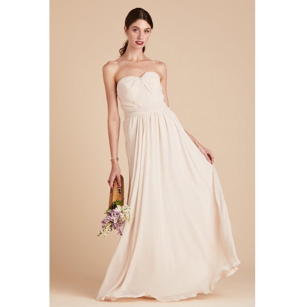 GRACE CONVERTIBLE DRESS - CHAMPAGNE by Birdy Grey