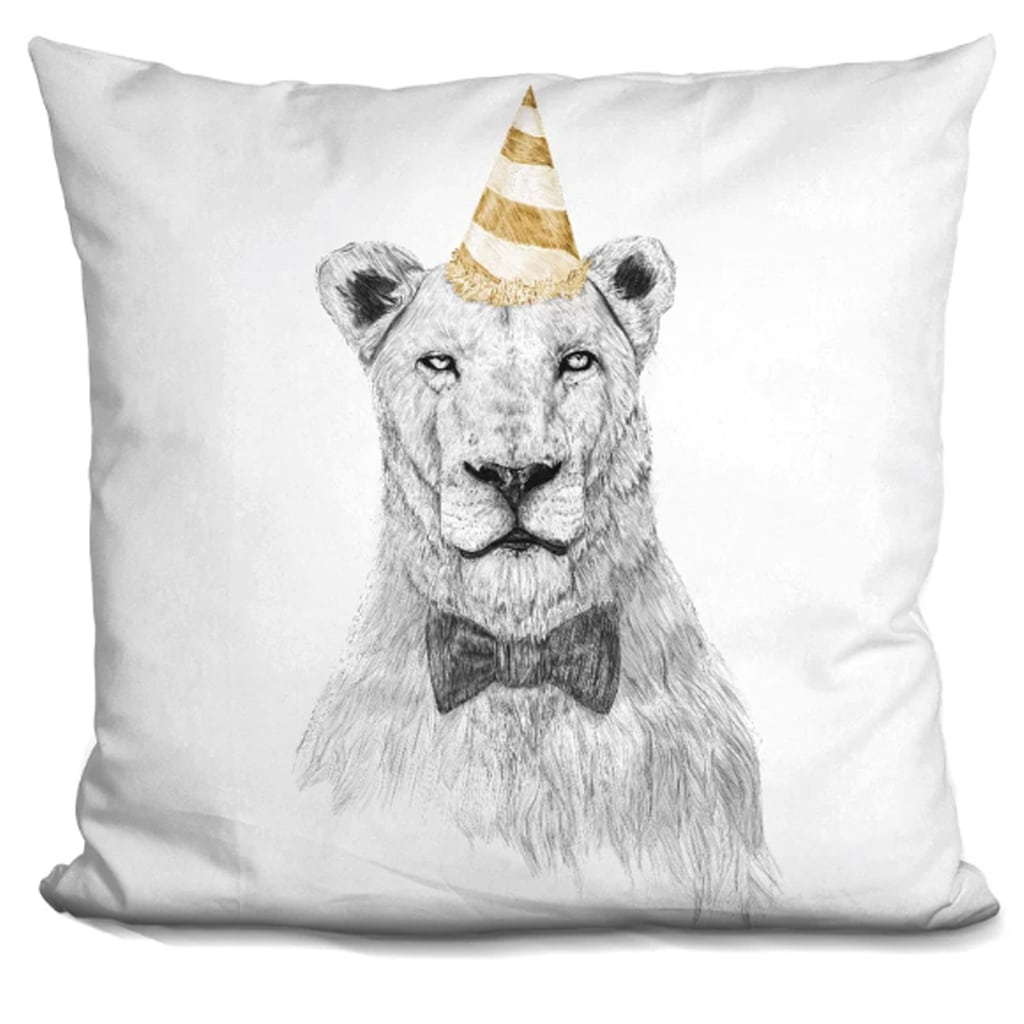 Get the Party Started Throw Pillow