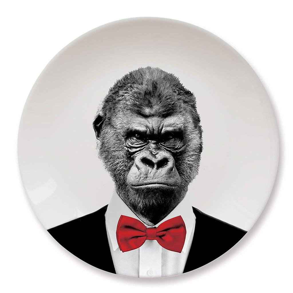 Gorilla Dinner Plate