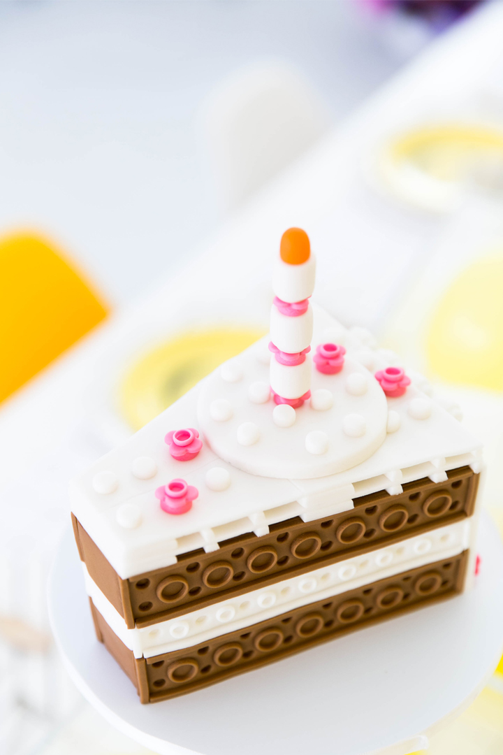 Lego Cake from Everything is Awesome! Party In Collaboration with Daydream Society, But First, Party!, & Bonjour Fete