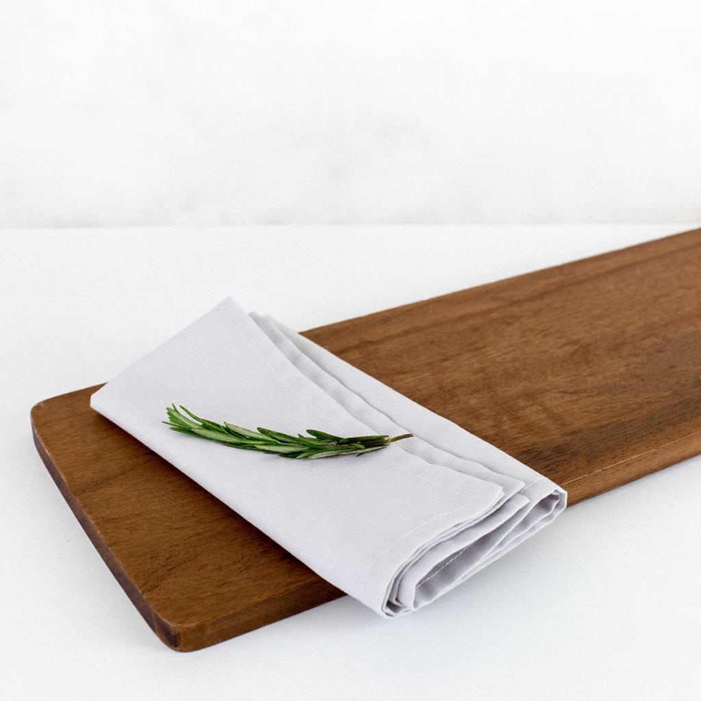 Misty Grey Napkins from Wolf & Irving