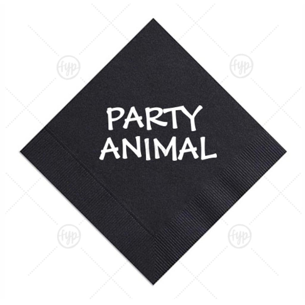 Party Animal Napkins