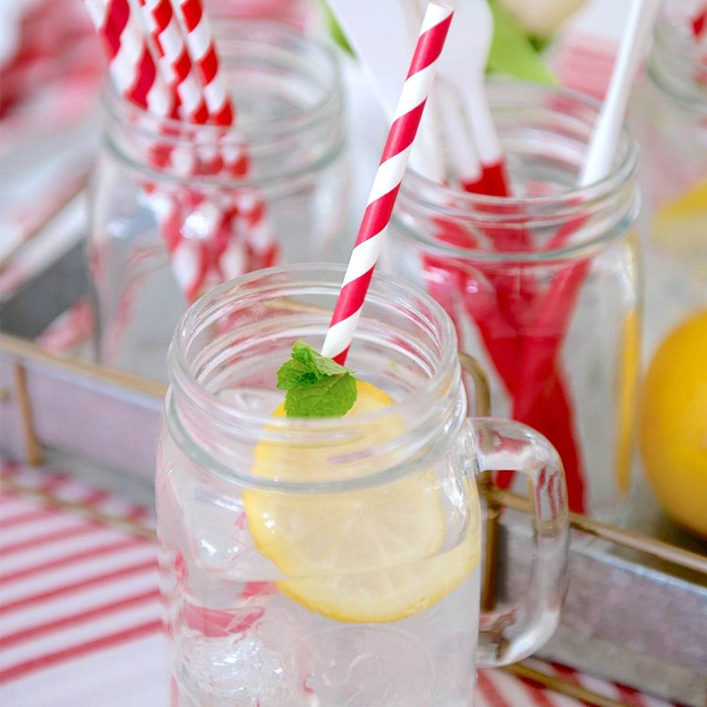 Red and White Straws from Sophistiplate
