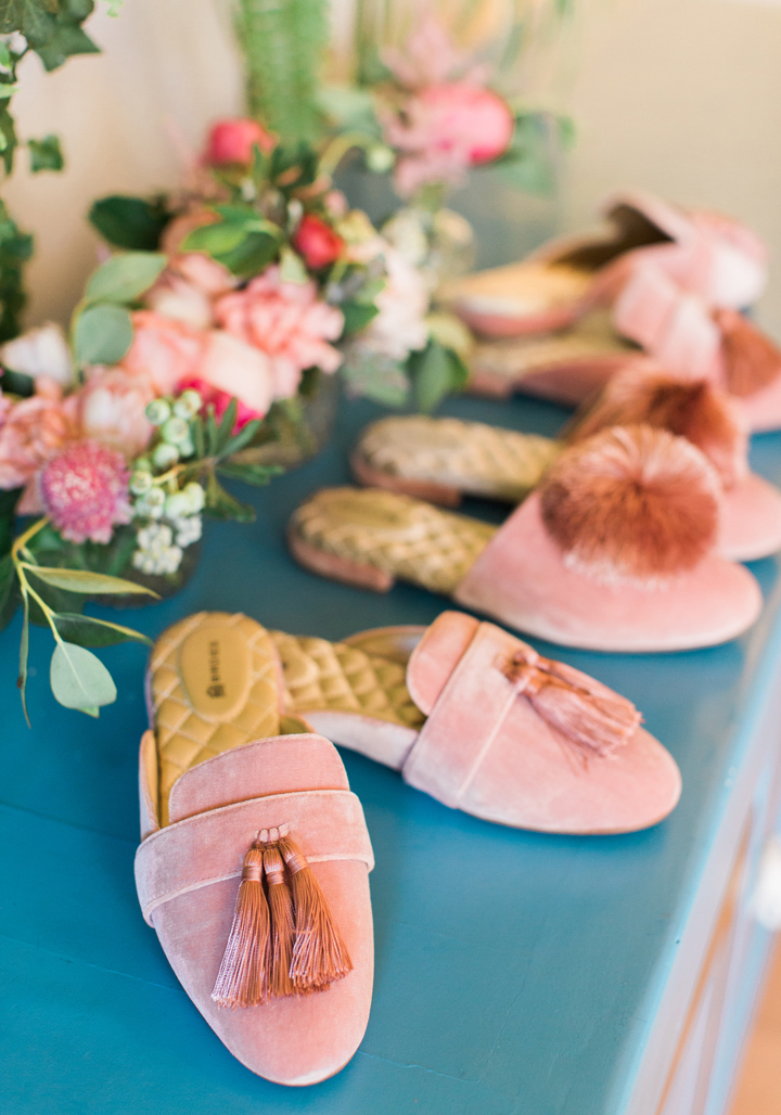 """Tassle Shoes from Bridal Tribe """"Try-On"""" Party styled by Black Twine In Collaboration with Birdy Grey"""