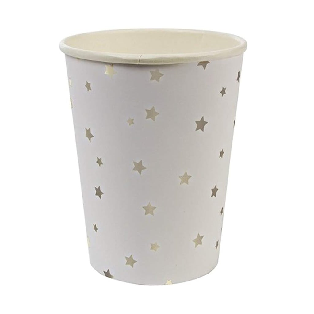 Silver Stars Party Cups from Meri Meri