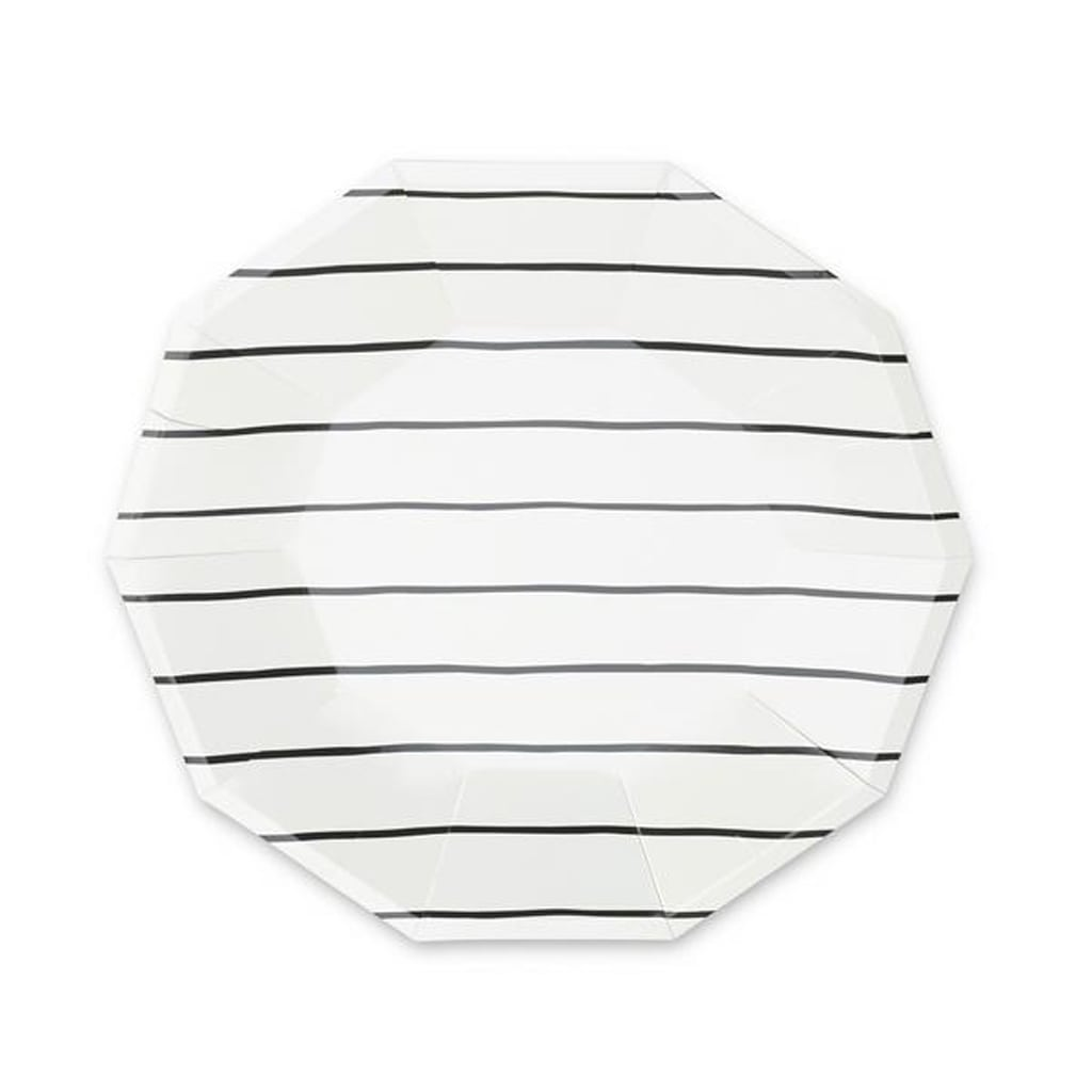 Striped Large Plates from Daydream Society