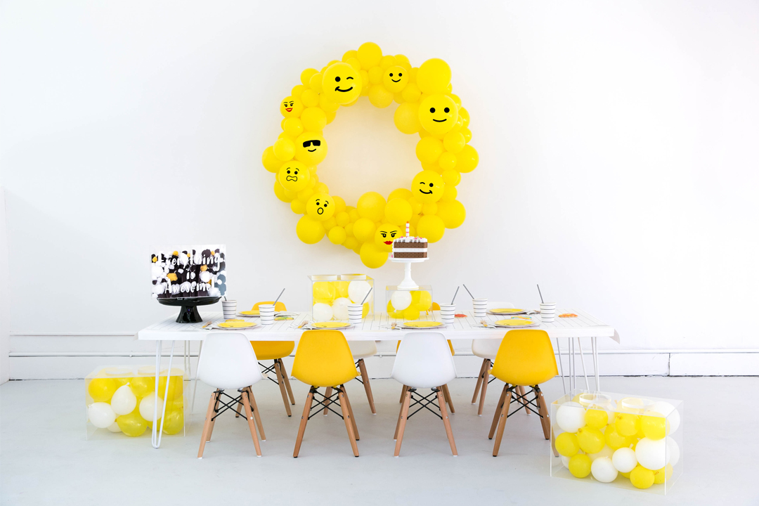 Tablescape from Everything is Awesome! Party In Collaboration with Daydream Society, But First, Party!, & Bonjour Fete