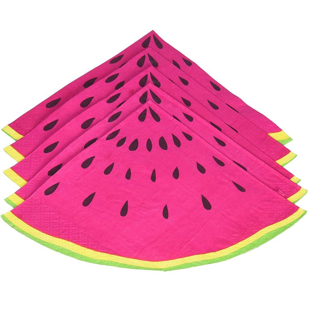 Watermelon Slice Napkins