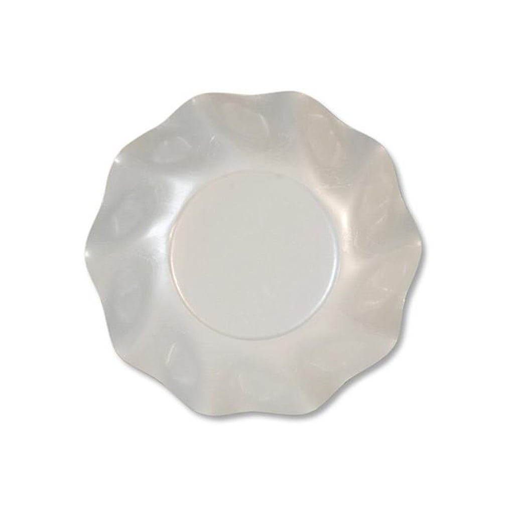 WHITE DEEP BOWLS from Sophistiplate