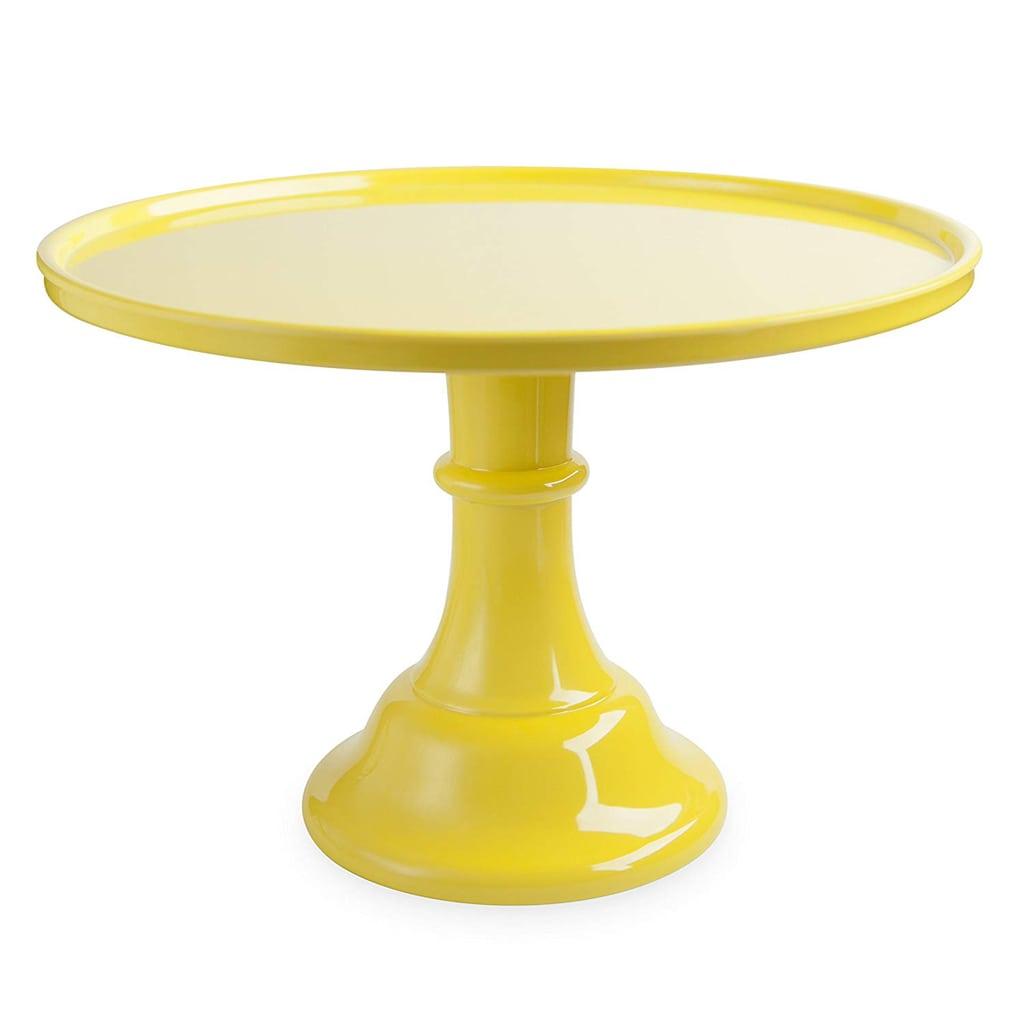 Yellow Cake Stand