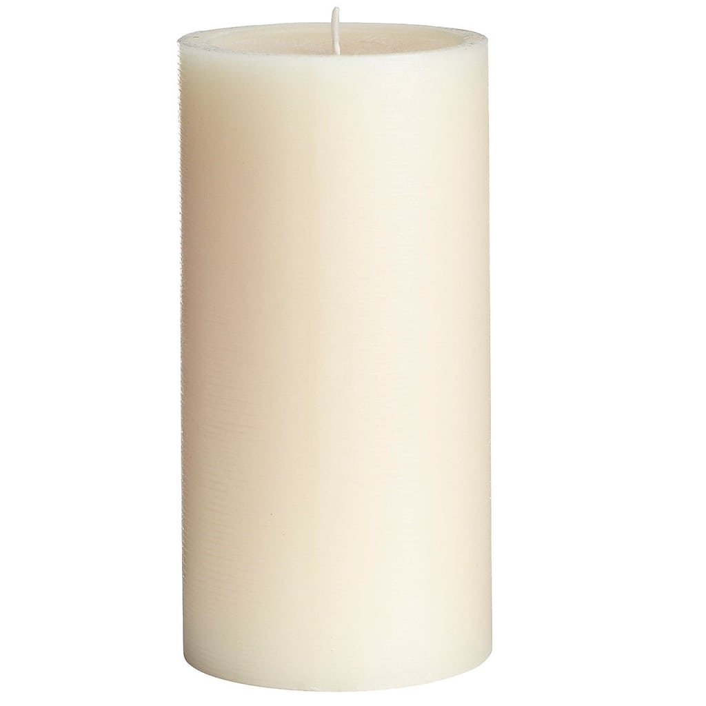 Unscented Ivory 3x6 Pillar Candle