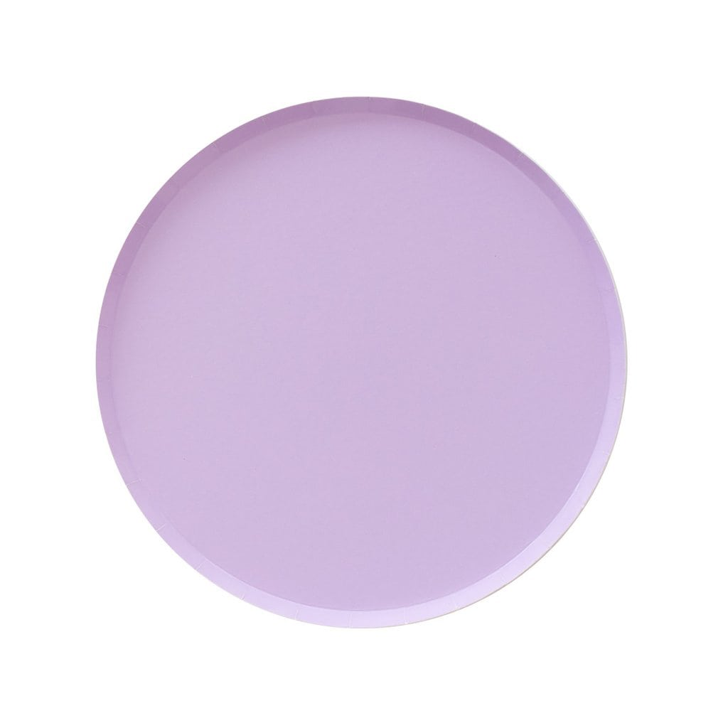 Large Plates in Lilac from Oh Happy Day