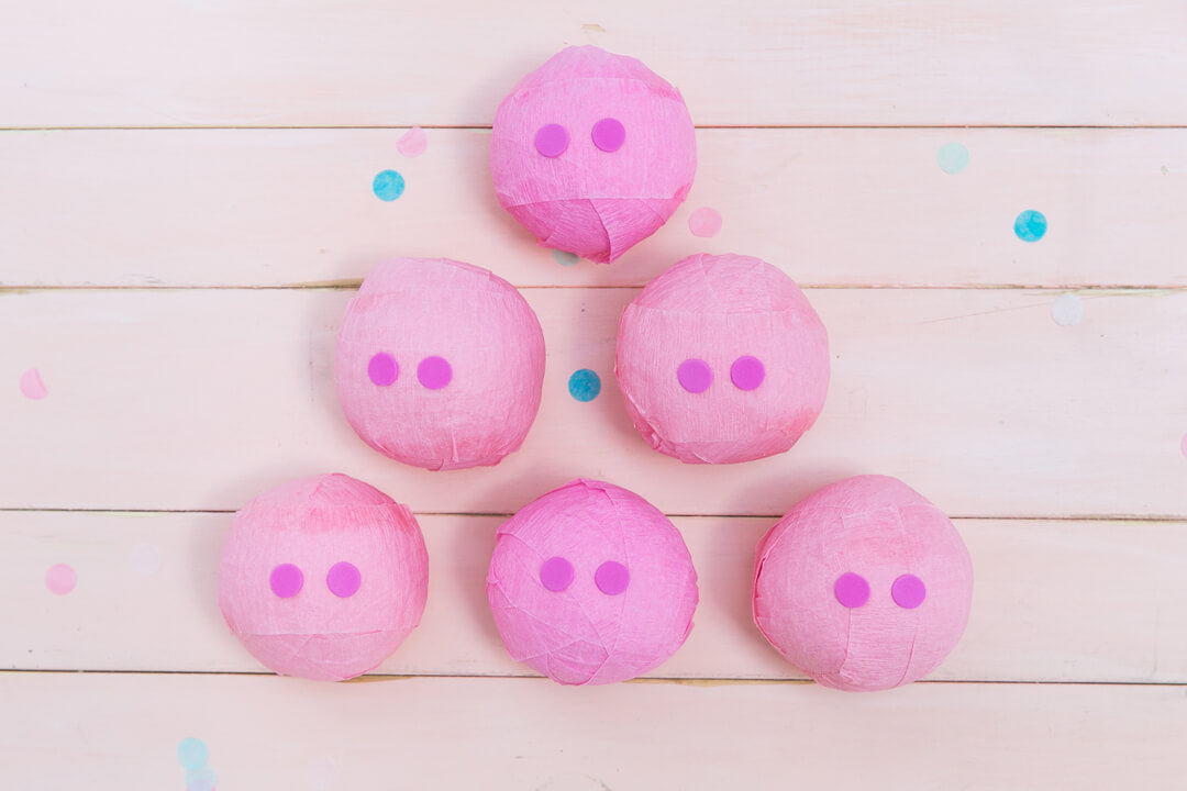 Pig Snouts from Piggie Splish Splash Bash In Collaboration with Daydream Society, But First, Party!, & Bonjour Fete