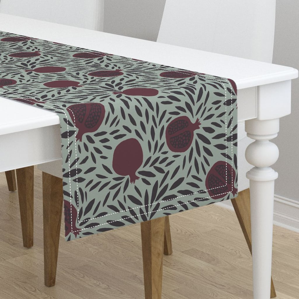 Pomegranates Table Runner from Roostery