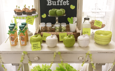Back to School Breakfast Buffet with Giggle Living