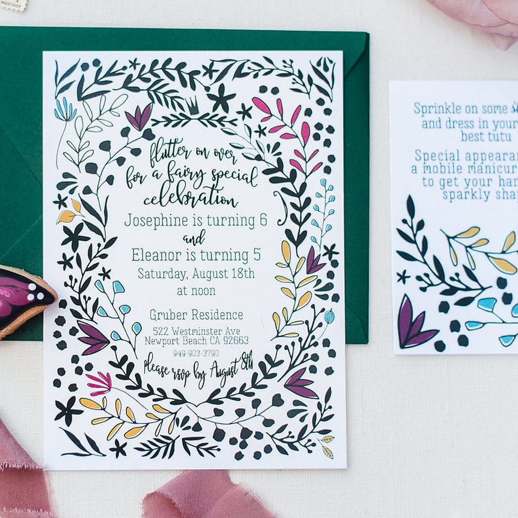 Custom Invitations from Minor Details Cle