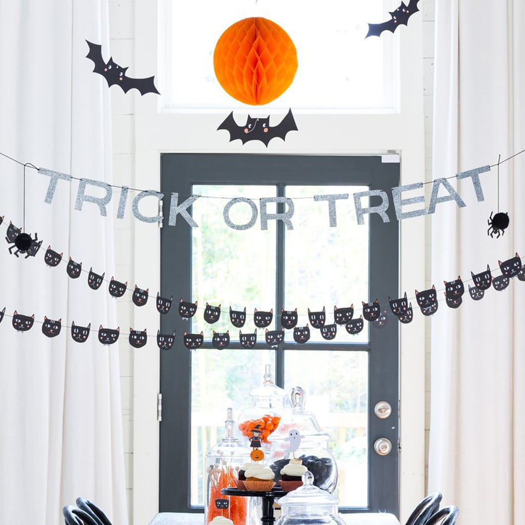 HALLOWEEN TRICK OR TREAT BANNER from My Mind's Eye Paper Goods