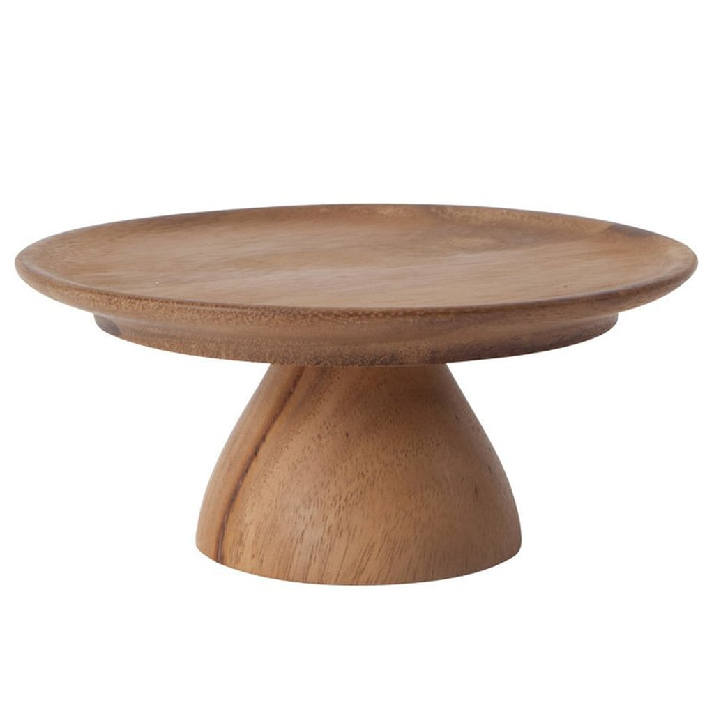 WOODEN CAKE STAND from Oh Happy Day!