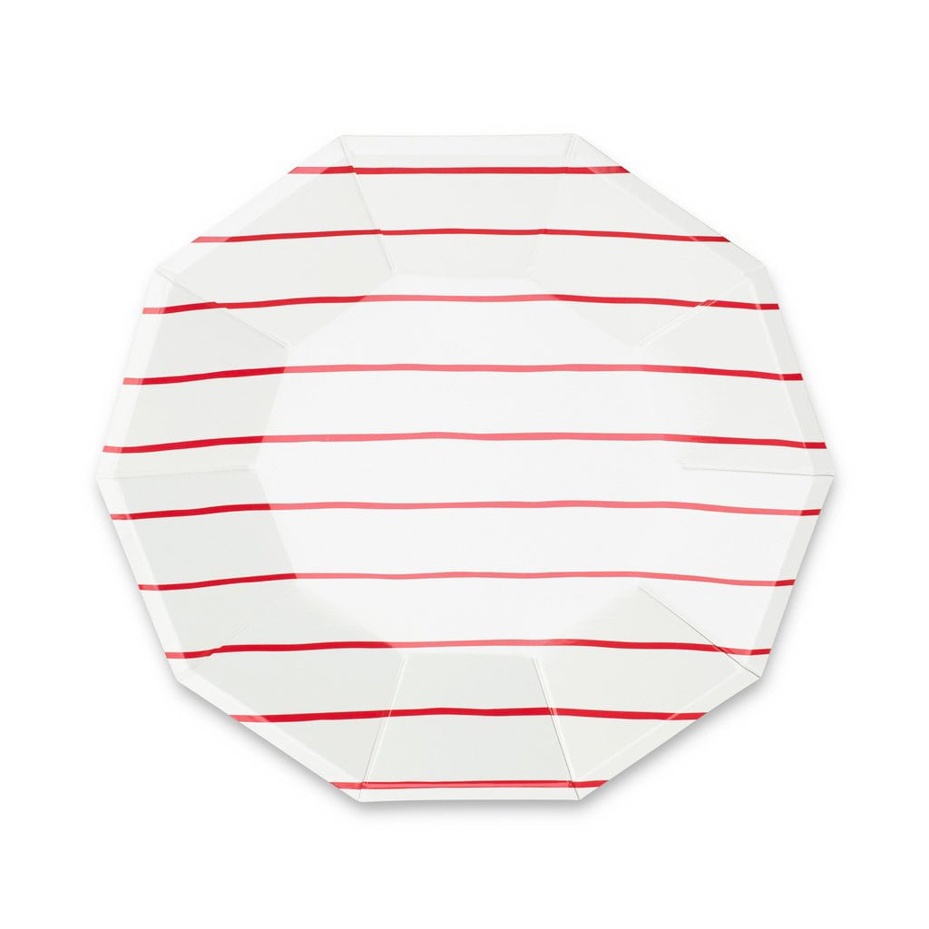 Striped Large Plates from Day Dream Society