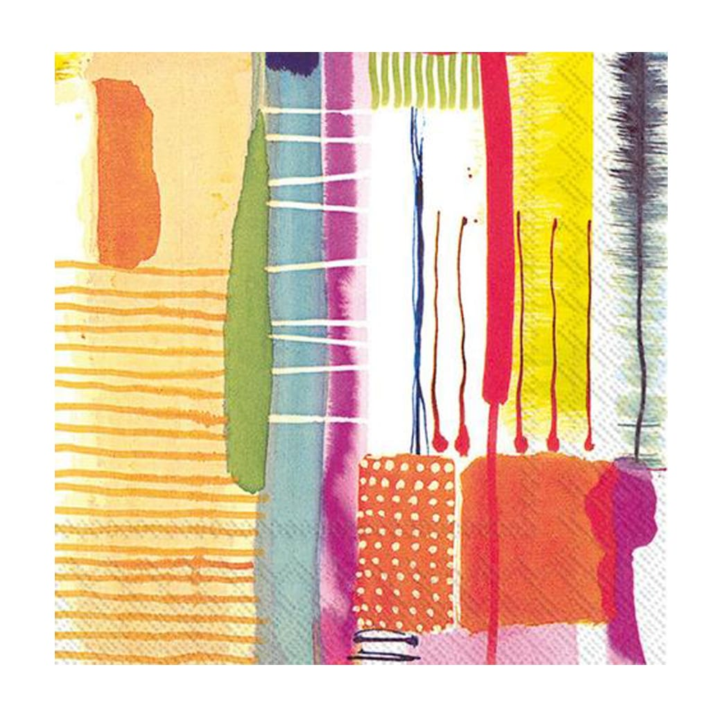 Abstract Art Napkins - Geese & Ganders