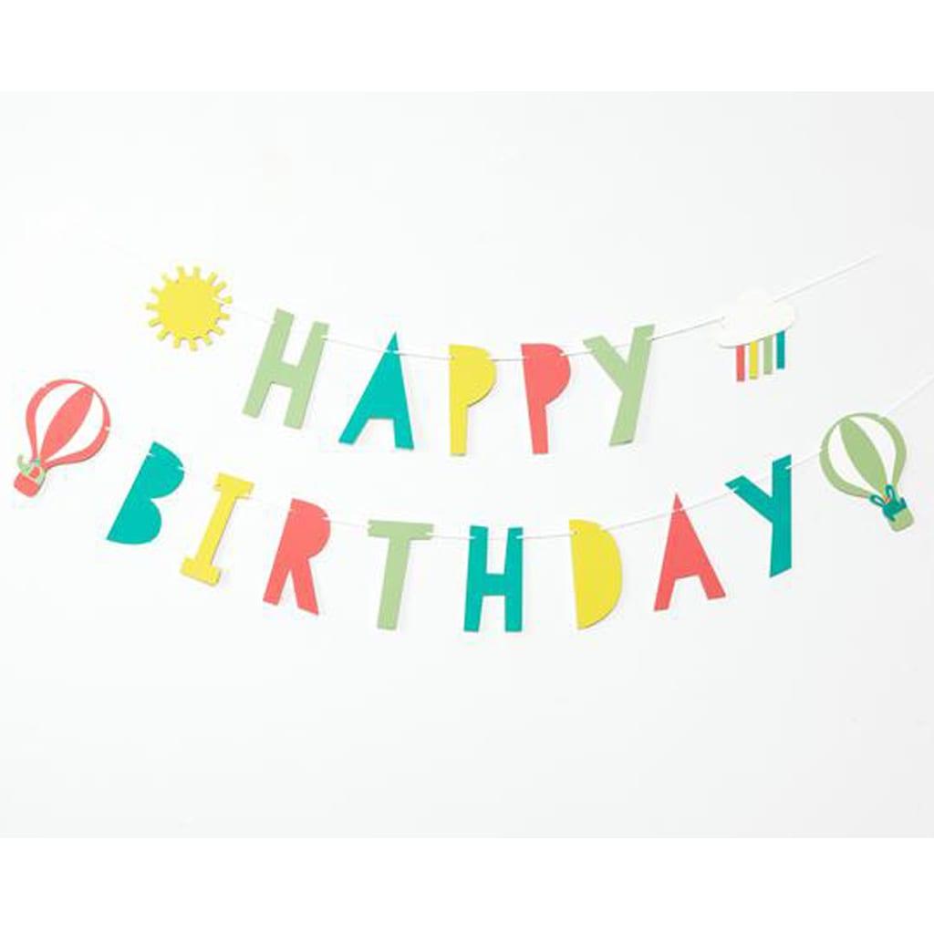 Happy Birthday Banner from Merrilulu