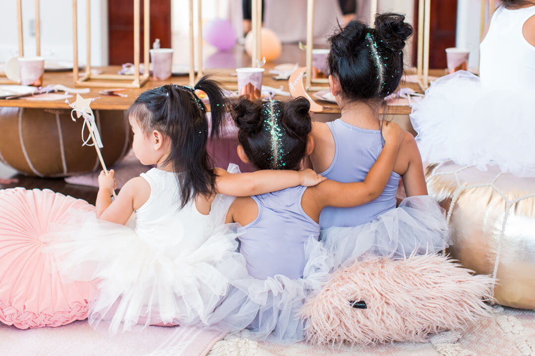 Children's Back from Celestial Birthday Party Styled by Golden Arrow Events & Design | Black Twine
