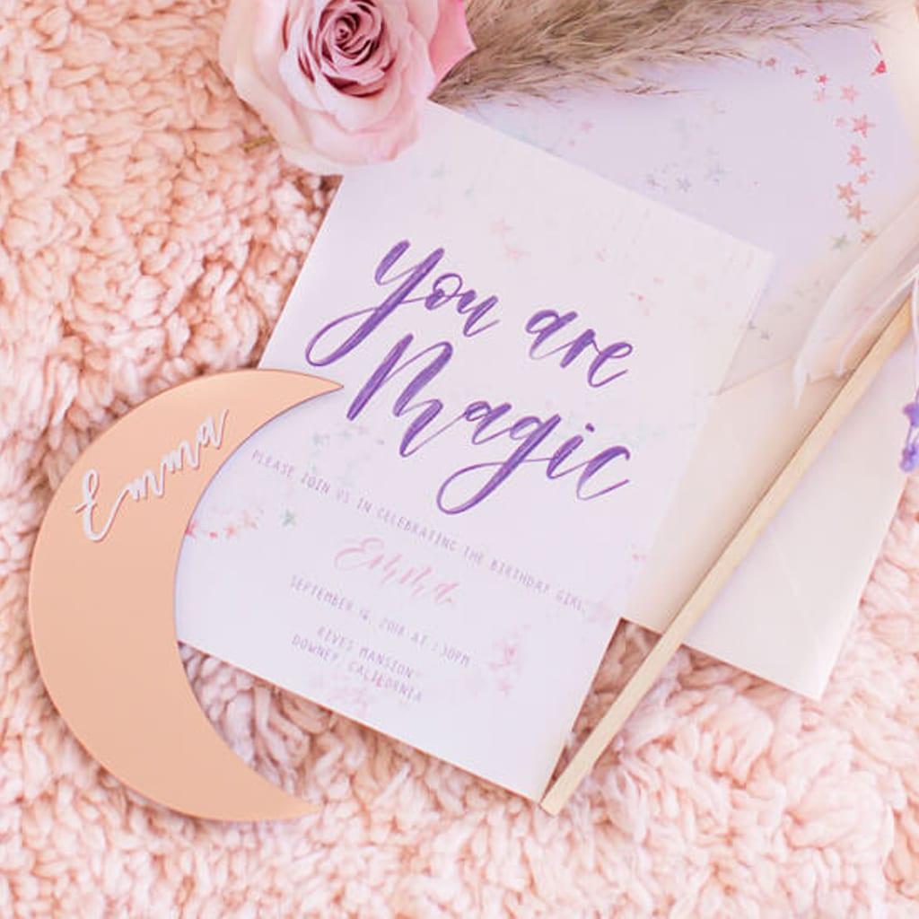 Invitation & Signage - Pirouette Paper