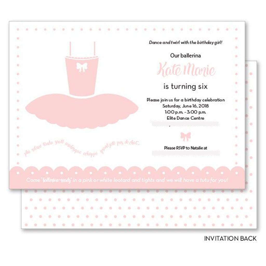 Invitation - Kiss Me Kate Studio