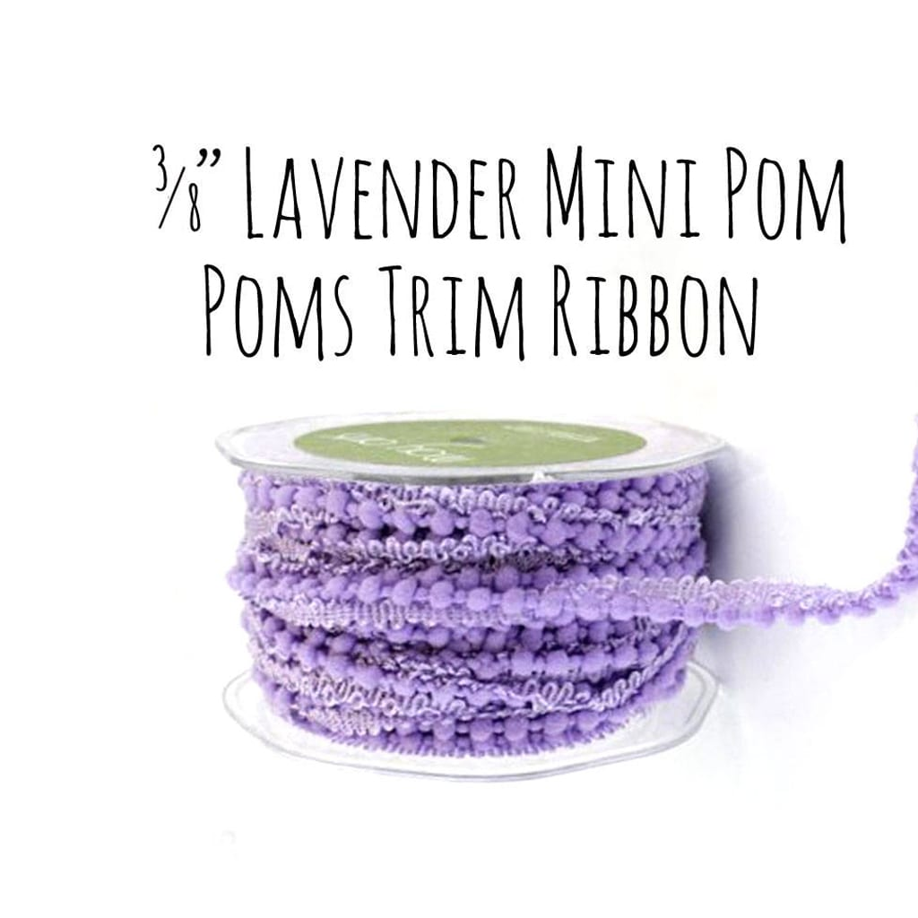 Lavender ribbon - Anna See Supplies