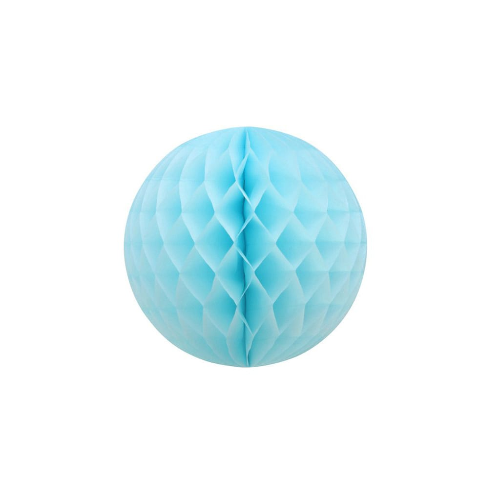 "Light Blue 12"" Honeycomb Ball - Oh Happy Day!"