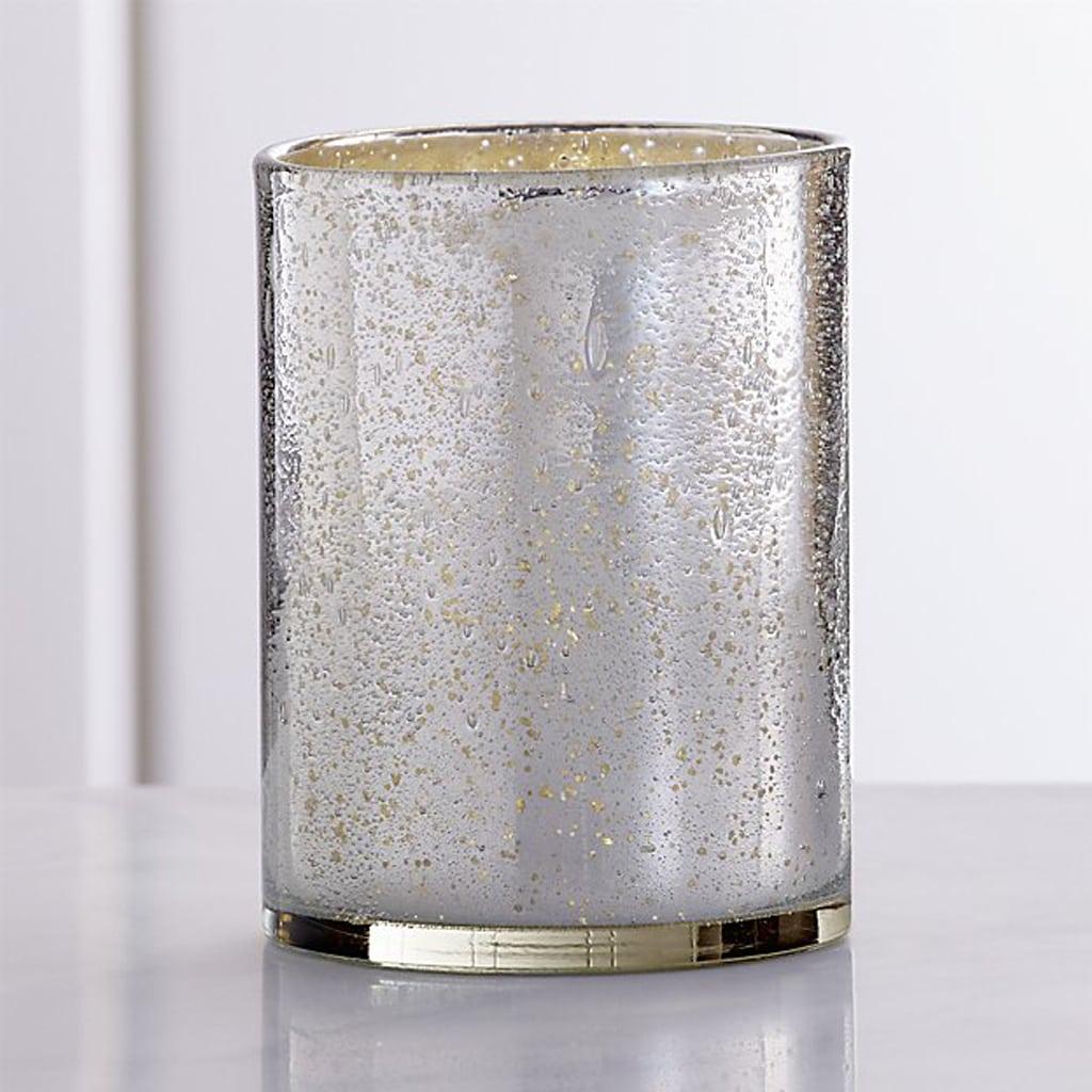 Mercury Glass Vases - Crate & Barrel