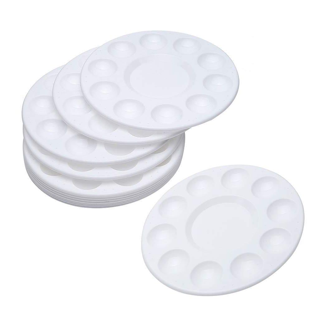White Plastic Palette Trays