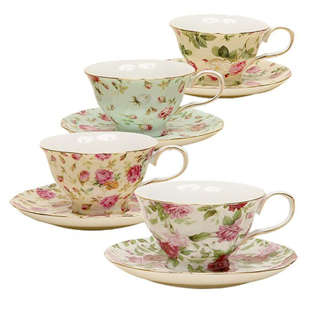 Porcelain Tea Cup and Saucer - Amazon