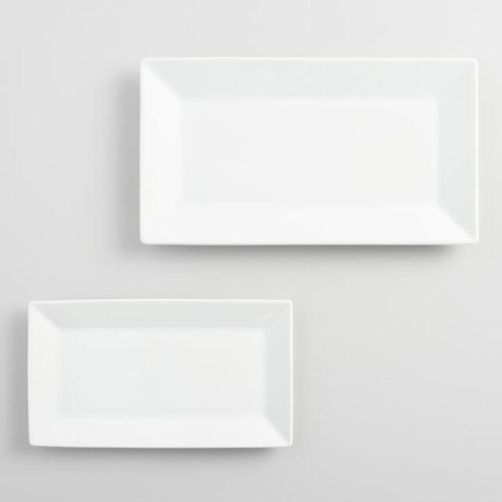 Rectangle Porcelain Dish Small