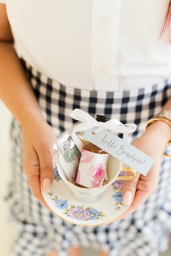 "Whiskey and Teacup Favors from ""Whiskey in a Teacup"" Ladies Brunch Styled by Event Prep 